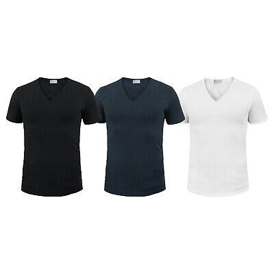 Pack 3 T-Shirt Uomo LIABEL Cotone Garzato Bielastico Art.04868