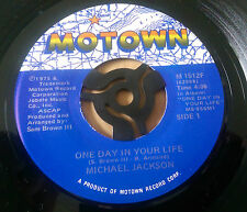 Michael Jackson - One Day In Your Life / Take Me Back- Motown  M 1512F - (1975)