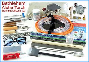 TOP-Angebot-BETHLEHEM-ALPHA-TORCH-Glasperlen-Brenner-Start-Set-DELUXE-IX