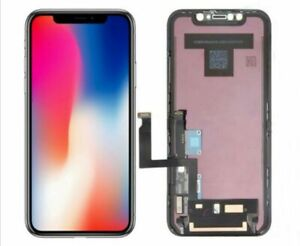 TOUCH-SCREEN-LCD-DISPLAY-PER-APPLE-IPHONE-X-10-VETRO-FRAME-OLED-SCHERMO-RICAMBIO