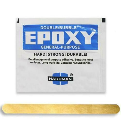 Hardman Epoxy Glue for DIY Ski Binding Insert Installation 3.5g
