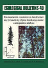 Environmental Construction of Pine Forest Ecosystems by Munksgaard International Publishers (Hardback, 1994)