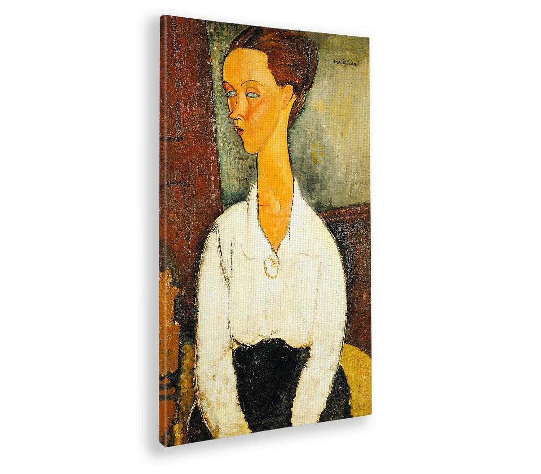Quadro - Amedeo Modigliani - Ritratto di Lunia Czechowska - Stampa fine art – Pr