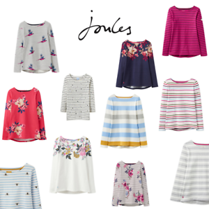Joules   Harbour Print Jersey Top   Womens   FREE P&P   SIZE 8 10 12 14 16