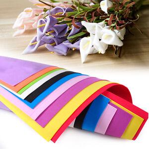 10 Sheets A4 Eva Foam Funky Children Kids Handmade Paper Hand Craft