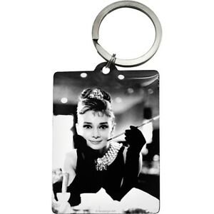 Portachiavi-Vintage-Design-Mod-Audrey-Hepburn-Holly-Golightly