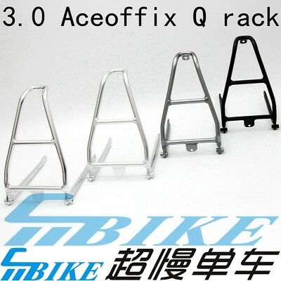 ACE Aluminium Q Type Rear Rack for Brompton Bicycle 140g Luggage Shelf