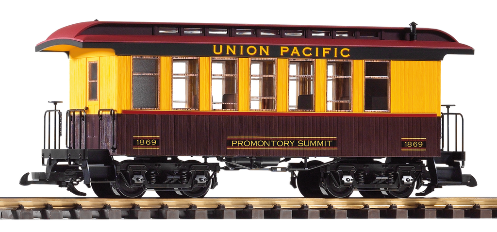 Piko  G Scale 38648-649-641 Union Pacific 3 voiture Passenger Set  magasin discount