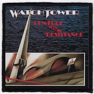 WATCHTOWER-PATCH-SPEED-THRASH-BLACK-DEATH-METAL