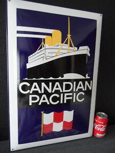 Canadian-Pacific-Cruise-Line-Boat-Shop-Decor-Porcelain-Enamel-Sign-52