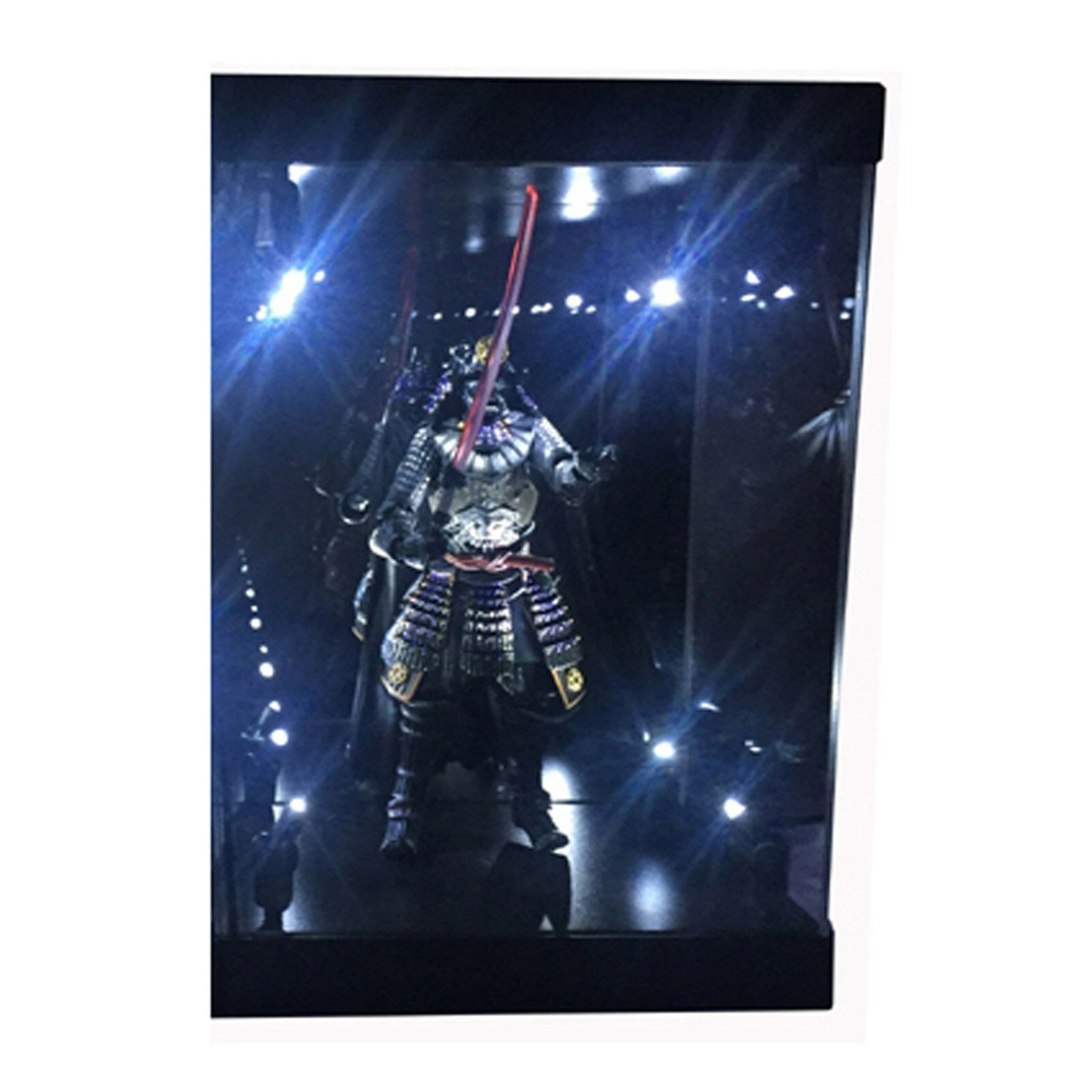 MB Acrylic Display Case LED Light Box for 6  15cm STAR WARS S H Figuarts Figure