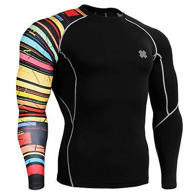 FIXGEAR CP-B33 Skin Tights Compression Under Shirts Fitness GYM MMA Workout
