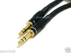 Balanced cable for guitar