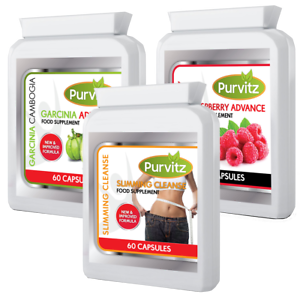 Garcinia Cambogia Raspberry Ketone Advanced Plus Colon Cleanse Diet Pills Bottle