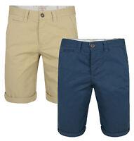 Lee Cooper New Men's Chino Shorts Casual Cotton Summer Half Pants Smart Plain