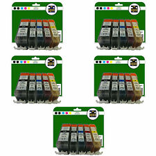 25 Ink Cartridges for Canon Pixma iP4850 iP4950 iX6250 iX6550 non-OEM 525-526
