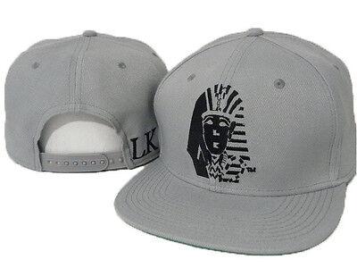 New Hot Last Kings Adjustable Baseball Rock Cap Snapback Hip-Hop Cool Gray Hat