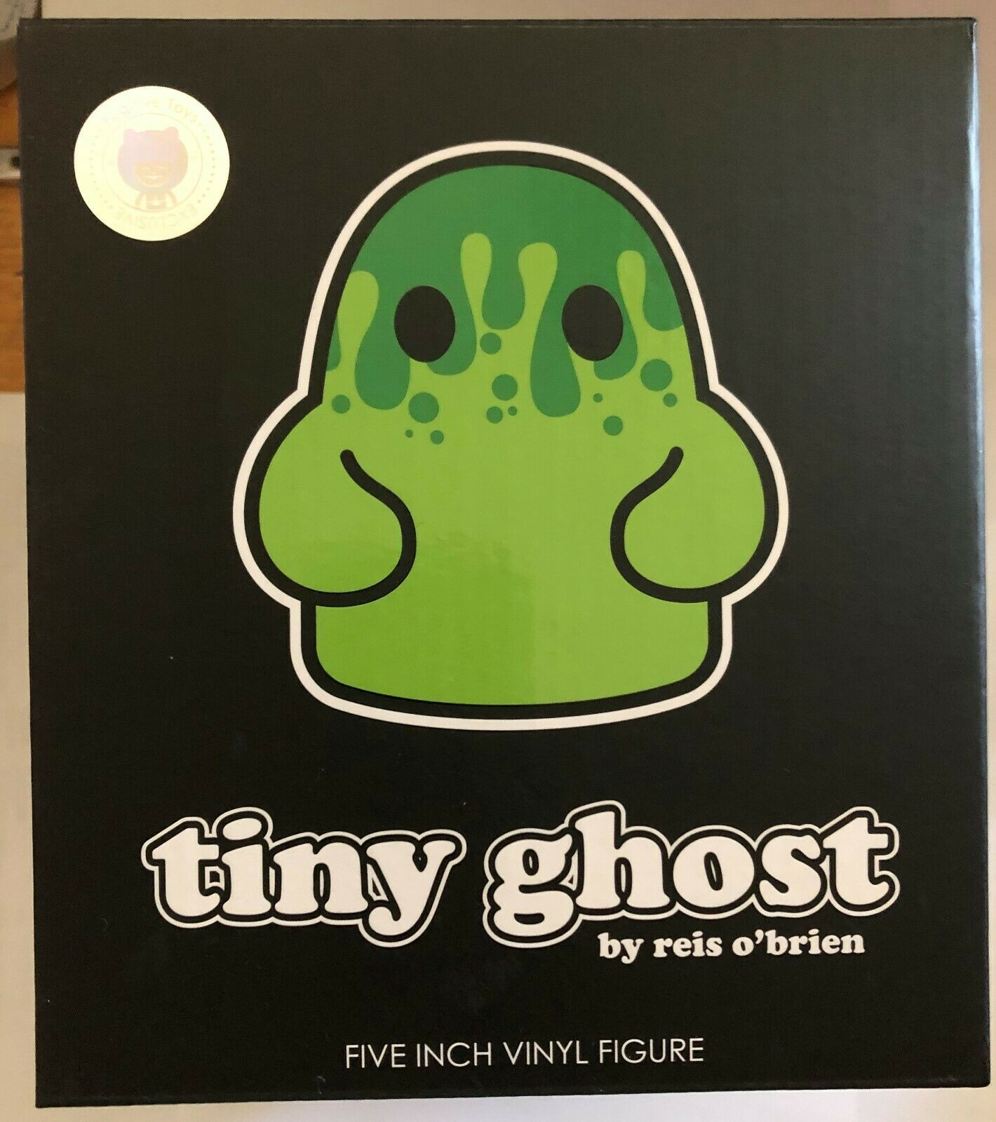 Tiny Ghost ectoplasme bimtoy 2019 eccc fugitif Toys Exclusive limited edition 400 signé