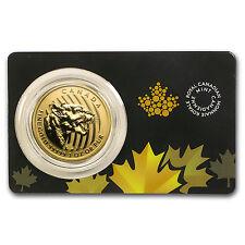2015 Canada 1 oz Gold Growling Cougar .99999 BU (Dmgd Assay) - SKU #90288