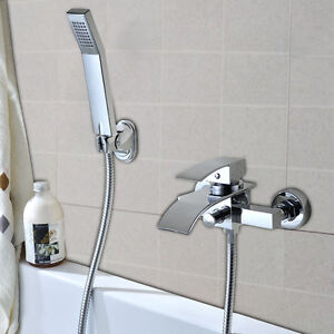 Badewannenarmatur Mit Handbrause Brauseschlauch Wannen Armatur