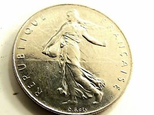 1977-French-One-1-Franc-Coin