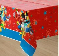 Mickey Mouse Clubhouse (1) Plastic Table Cover Birthday Party Supplies