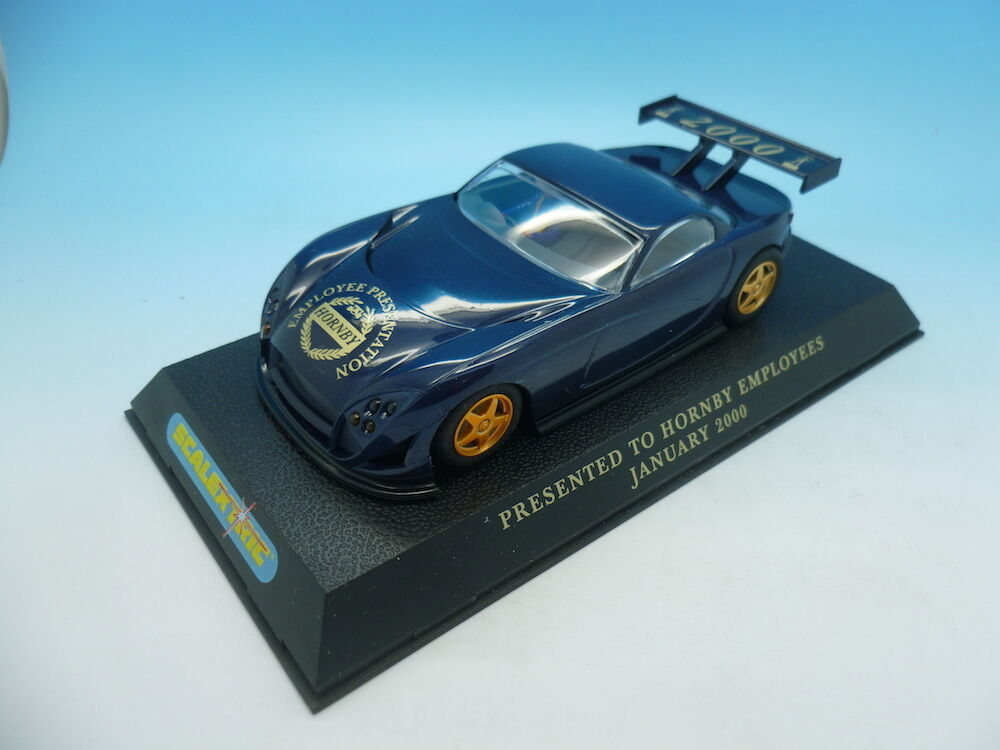 Scalextric Hornby Employees car of only approx 250, given to Celebrate the Mille