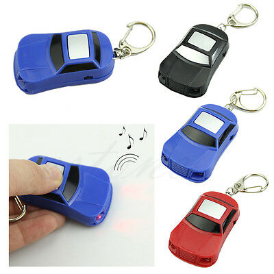 LED Light Remote Sound Control Key Finder Locator Find Lost Key Keychain Keyring