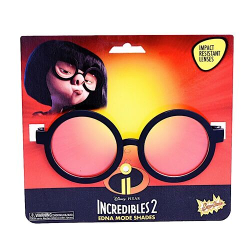 Incredibles Edna Mode Glasses Cosplay sg3298 Party Costumes Sun-Staches