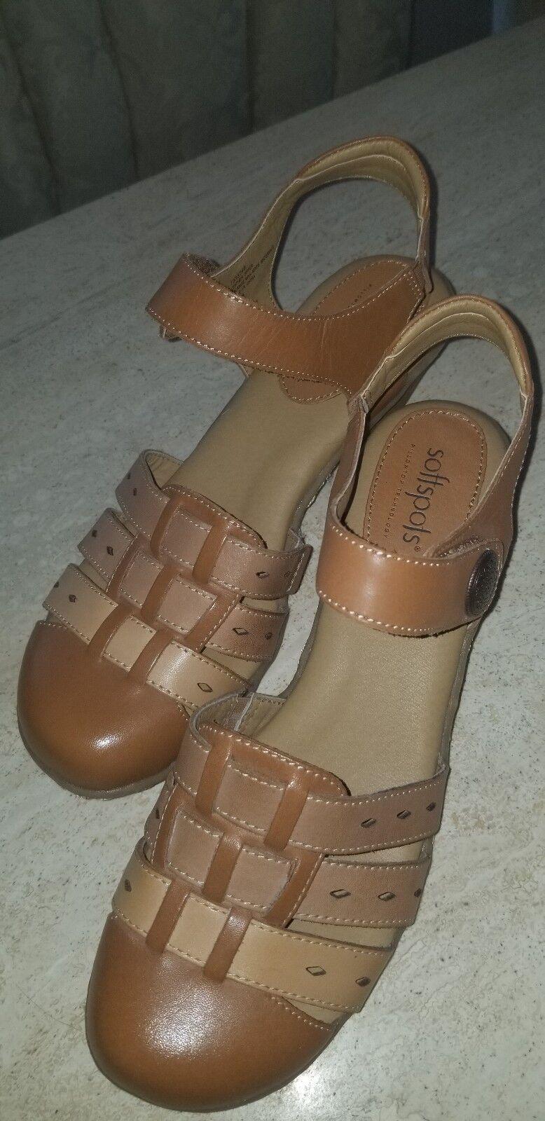 Softspots tri Couleur sandals sz 9m
