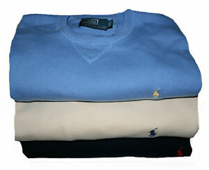Polo-Ralph-Lauren-B-amp-T-Small-Pony-Rundhals-Pullover-Gr-1-2-3-5XB-BIG-in-3-Farben
