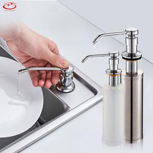 Details About 300 350ml Soap Dispenser Kitchen Sink Faucet Bathroom Shower Lotion Shampoo Pump