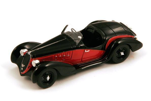 barato Alfa Romeo 6C 2500 SS  negro rojo    1939 (Spark 1 43   S2715)  Seleccione de las marcas más nuevas como