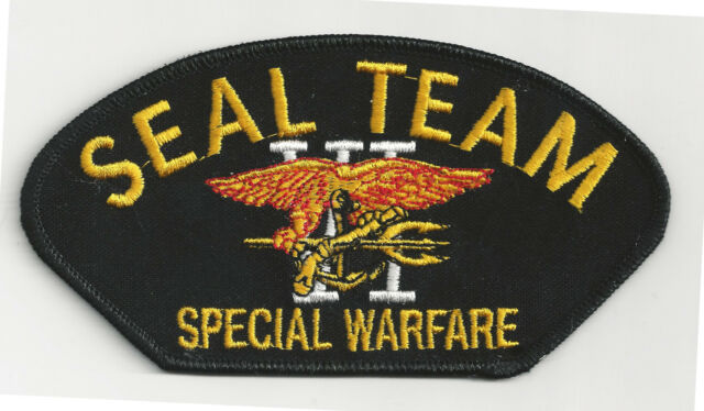 SEAL TEAM 6 - SPECIAL WARFARE - IRON-ON PATCH