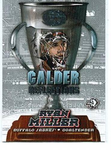 2002-03 Pacific Calder Reflections #4 Ryan Miller