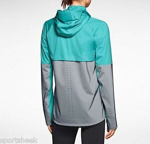 bd479d1d8 NIKE SHIELD FLASH WOMEN S RUNNING JACKET NEW REFLECTIVE 619026 388 ...