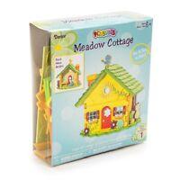 Foamies 3-d Meadow Cottage Foam Craft Kit Spring House