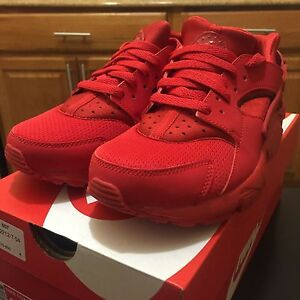 562ba5aa238de ... where can i buy nike huarache run university red 654275 600 triple red  red october boys