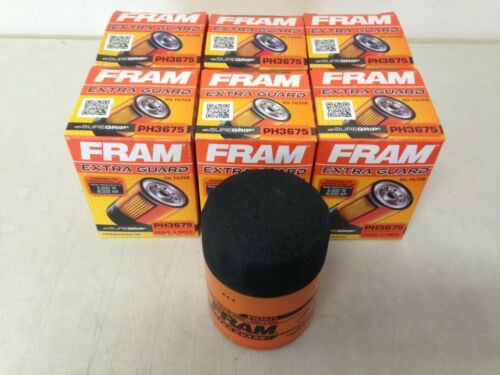 6 SIX Fram PH3675 Oil Filter CASE fits TG3675 XG3675 PF59 PH59 L25288 51522 1522