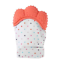 thumbnail 3 - New UK Baby Silicone Teething Mitten Glove Soft Candy Wrapper Teether BPA Free