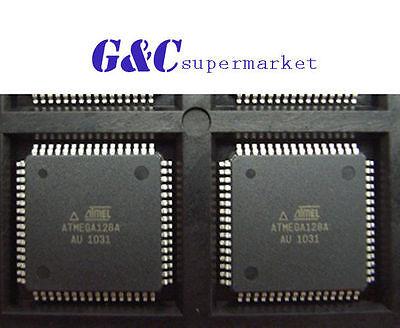 4PCS IC ATMEGA128A-AU QFP-64 8-bit Microcontroller NEW GOOD QUALITY QFP4