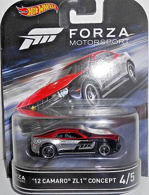 2016 Retro Hot Wheels Forza Motorsport #4 /'12 Camaro ZL1 Concept