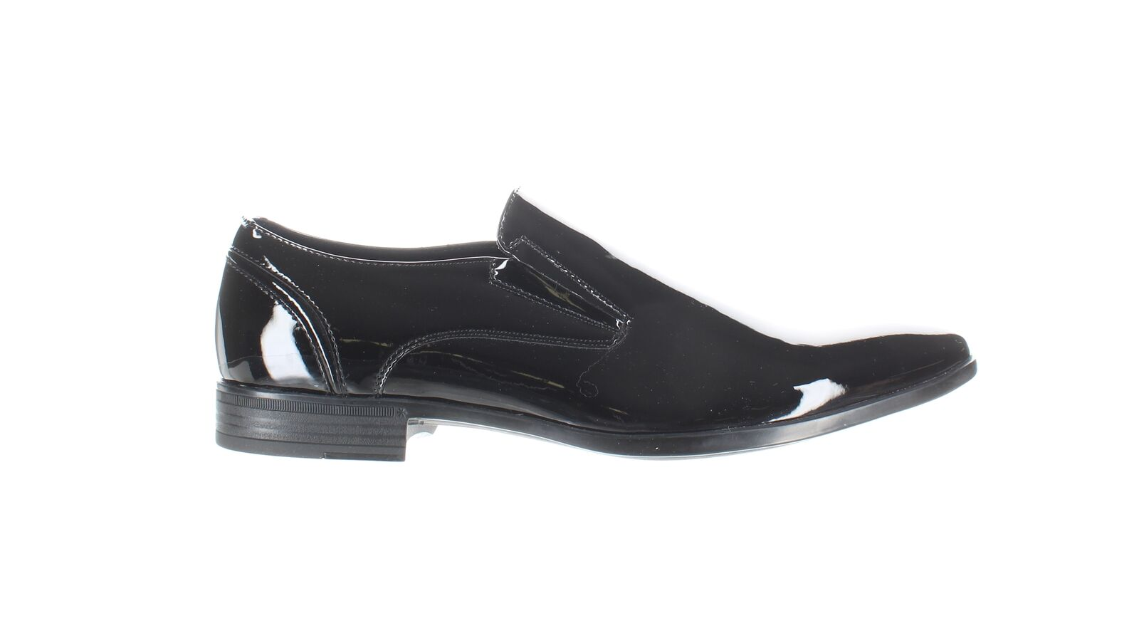 Kenneth Cole Mens Edison Black Loafers Size 7 (1833609)