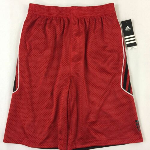 Boy/'s Youth Adidas Reversible Mesh Athletic Shorts Size M