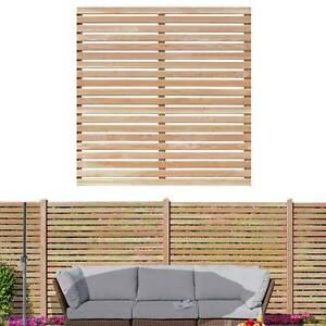 bausatz sichtschutzzaun 180 x 180 cm holz l rchenholz sichtschutzzaun holzwand ebay. Black Bedroom Furniture Sets. Home Design Ideas