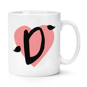 Lettera-D-Cuore-Alfabeto-10oz-Tazza-San-Valentino-Graziosi-Amore
