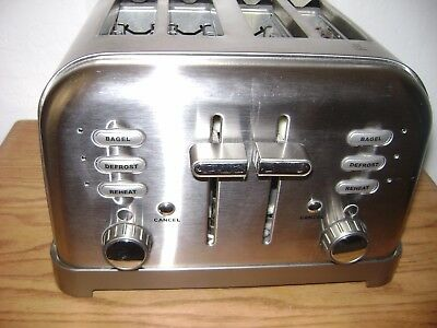 Cuisinart  Metal Classic 4-Slice Toaster Brushed Stainless