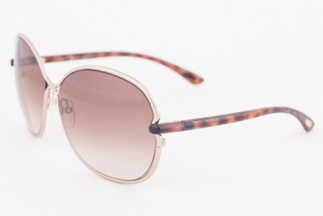 7545f75f6fd Tom Ford Leila Rose Gold   Brown Gradient Sunglasses Tf222 34f for ...