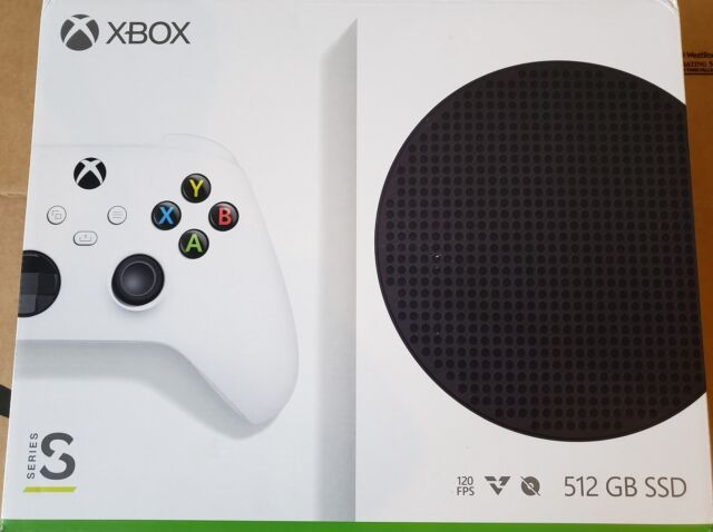 New, Sealed Microsoft Xbox Series S 512GB Video Game Console FREE SHIPPING