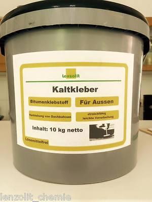 Hell Lenzolit Kaltkleber Kaltanstrich Kleber Für Dachpappe Bitumen Heimwerker Baustoffe & Holz 2,30€/l